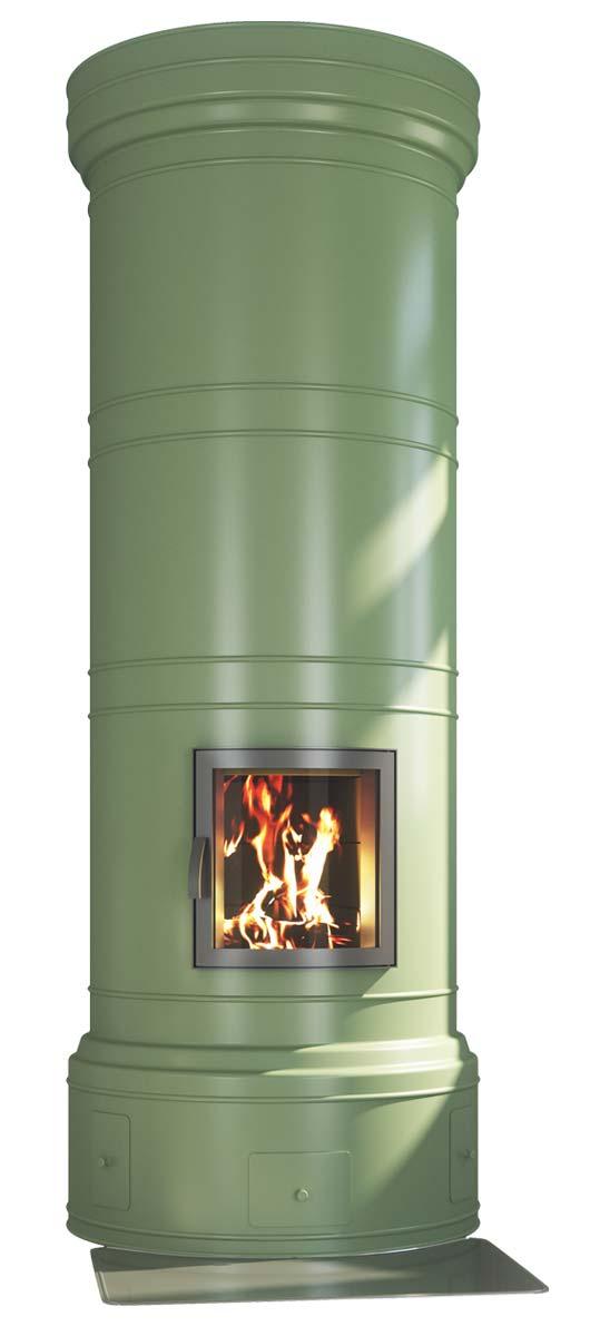 Pönttöuuni - Vihreä - RAL 6021